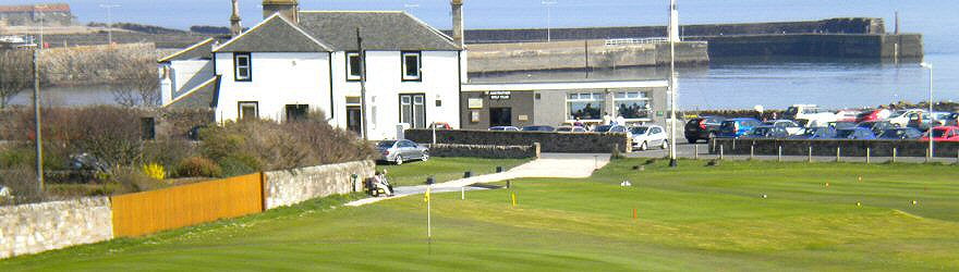 Anstruther Golf Course.